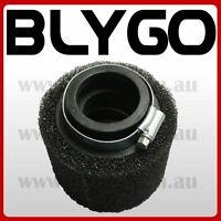 BLACK 41 42mm Foam Air Filter Pod Cleaner 150 160cc PIT Quad Dirt Bike ATV Buggy