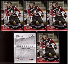 DOUGIE HAMILTON 12/13 ITG Heroes & Prospects Lot of (5) Rookie RC #68 Bruins