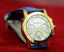girard perregaux 7001 chronograph quarz 7700 swiss made 18k gold armbanduhr