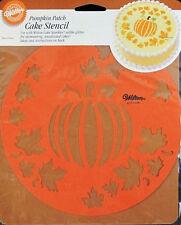 Pumpkin Patch Stencil from Wilton 1206 - NEW
