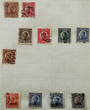 Yugoslavia 1921 Kingdom of Serbs, Croats and Slovenians Hinged Stamps x 11