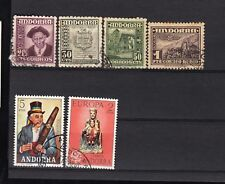 ANDORRA STAMPS, USED, CV 57  EURO