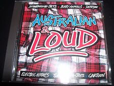 Australia & Loud Various CD Defryme Baby Animals Bodyjar The Screaming Jets Ripe