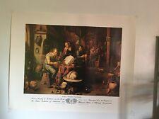 The Iatrochemist by Van Den Bossche 1681-1715 Print 19 x 24