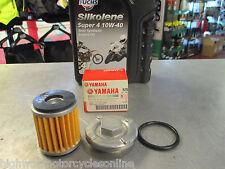Yamaha YZF R 125 Yzfr 125 Cárter De Aceite Filtro de aceite de enchufe o Anillo + Kit de cambio de aceite Gen