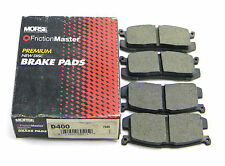 SET OF 4  NEW MORSE AUTOMOTIVE  D400  REAR  PREMIUM  DISC BRAKE PADS