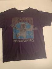 Nirvana Nevermind t-shirt Sz Large 2011 Kurt Cobain MTV band tee rock