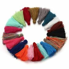 50pcs random color 30mm Mini Cotton Tassel Cord DIY Jewelry Decoration K1S8