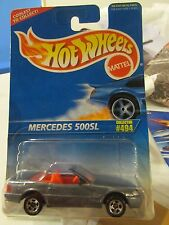 """Hot Wheels Mercedes 500SL #494 Grey """"Coolest to Collect"""""""
