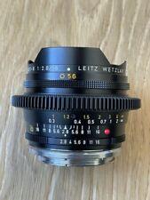 LEICA FISHEYE - ELMARIT-R 16mm f2.8 with Cine-Mod by Duclos and Canon EF mount