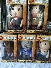 The Walking Dead Wind Ups  Daryl ,Rick ,Andrea, Michonne ,Walker
