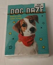 Dog Daze Playing Cards Sealed NEW Multi Breed Dogs
