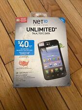 New listing Lg Optimus Dynamic Ii Net10 Wireless Prepaid No Contract Cellular Smartphone