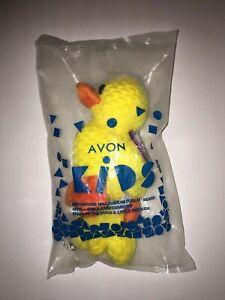 New Avon April Birthstone Full O' Beans 2000 Big & Little Paddles the Duck Plush