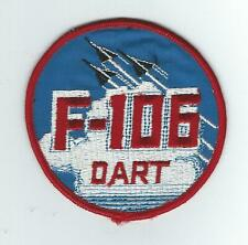 "1960s-70s F-106  ""DART"" 4 INCH patch"