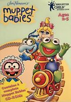Muppet Toddlers Train Pc New Boxed 2 Cd Rom Set XP Learn With Muppet Babies
