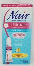 NAIR Hair Remover Ultimate Roll-On Wax For Face w Argan Oil 0.52 oz/15ml NEW