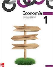 (12).ECONOMIA 1º.BACH.(*MOCHON*). NUEVO. Nacional URGENTE/Internac. económico