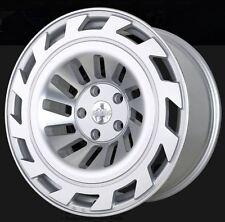 18X8.5/9.5 Radi8 T12 5x112 +40/42 Silver Rims Fits VW jetta (MKV,MKVI) Passat