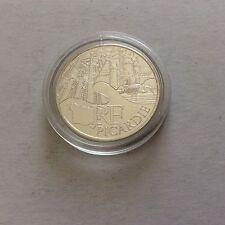 Pièce de 10 € en argent - France Région n° 2 Monument  2011 Picardie