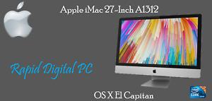 Apple iMac 27-Inch i5-750 4Gigs 1TB HDD A1312