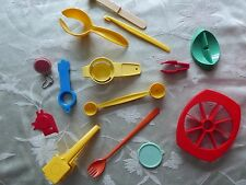 Tupperware Party Gifts LOT 14 -magnet, key chain, butter up, citrus peeler, more