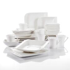Vancasso 30 Piece Glazed Porcelain Tableware Set Cup Saucer Dinner Soup Plate
