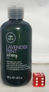 Paul Mitchell Tea Tree Lavender Mint Defining Gel Lightweight Frizz Control 6.8