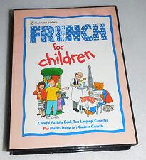 French Children Passport Books Audio Language Cassettes Activity Book Course