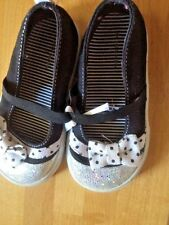 FADED GLORY Bobby Sox Mary Janes Loafers Oxfords Toddler Girls Shoes Size 6 :