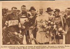 PARC DES PRINCES GRAND PRIX D' AUTEUIL CYCLISME VERVAECKE FRANTZ IMAGE 1928