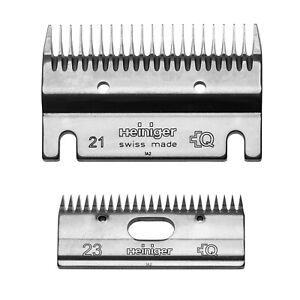 Heiniger Clipper Blade Size 21/23 Coarse For Dirty Coats and Cattle Clipping, 2-