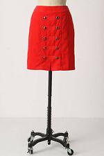 Anthropologie Brigadier Skirt Curduroy Pencil Skirt High Waist By Odille Size 0