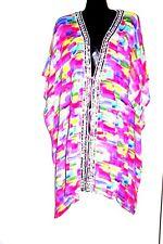 Kaftans / Vibrant Digital Jacket / Long / Ties/Embellished /Wholesale /Free Size