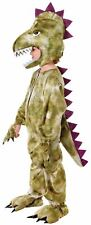 Boys Dinosaur Costume Kids Book Week Fancy Dress Outfit Story Jurassic T-Rex