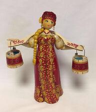 Russian Matryoshka - Russian Handmade Linden Wood Doll - #1