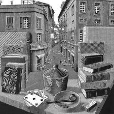 Escher # 33 cm 35x35 Poster Stampa Grafica Printing Digital Fine Art papiarte