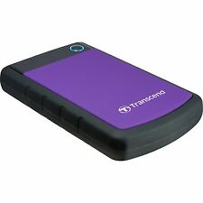 Transcend StoreJet 25H3P 2 TB, Festplatte, violett
