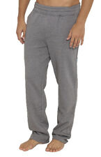 "BRAND NEW + TAG BILLABONG MENS (S) ""TEAM"" FLEECE TRACK PANTS SMOKE GREY MARLE"