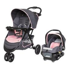 Baby Trend Ez Ride Travel System Infant Stroller & Car Seat Combo Flamingo Pink
