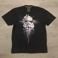 Marc Ecko Star Wars Mens Cut & Sew Black T Shirt Sz XL Poly Cotton Blend