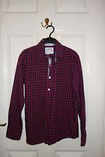Boy check shirt 13 years Jasper Conran. Red