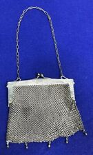 Vintage Metal Mesh Flapper Purse