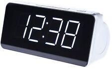Uhrenradio Radiowecker Digitaler LCD Wecker Alarm Clock Dual Alarm Digitalradio