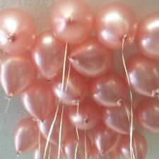 Rose Gold Balloon Birthday Wedding Party Bride Baby Shower Engaged Latex 11""