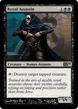 ROYAL ASSASSIN M10 Magic 2010 MTG Black Creature — Human Assassin RARE
