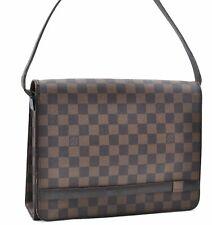 Authentic Louis Vuitton Damier Tribeca Shoulder Bag N51161 LV A4141