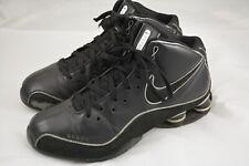 Mens Nike Shox Elite Flight Black Leather Basketball Shoes Size 10.5 2008