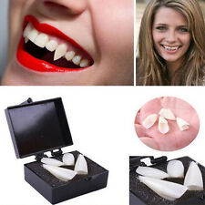 4pcs Creepy Scarecrow Vampire Fangs Small Teeth Zombie Halloween Party Costume