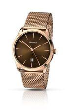 Relojes de pulsera de oro rosa de oro rosa de hombre